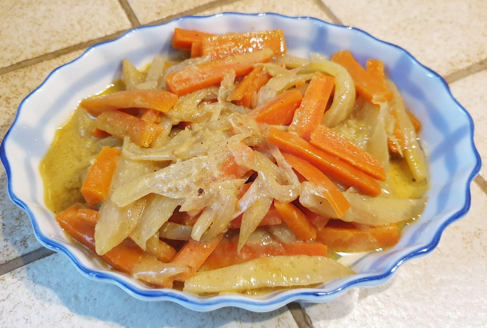 Recette Poêlée de fenouil sur Manger de tout et équilibré