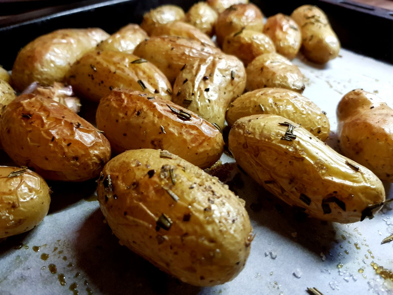Recette Pommes De Terre Grenailles Au Four Sur Quand Nadj Cuisine Blog De Cuisine De Nadj