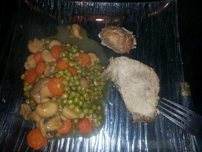 Recette Roti De Porc Aux Champignons Cookeo Sur La Cuisine De Stef