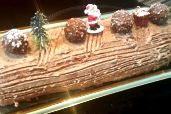 Recette Bûche de Noël 4: ferrero rôcher et nutella