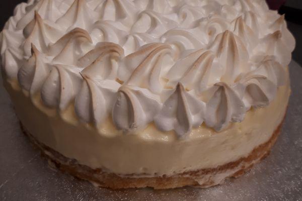 Recette Gâteau nuage de citron meringué