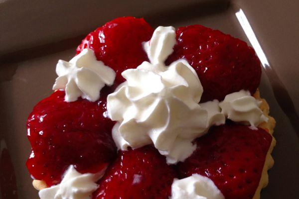 Recette Tartelettes gourmandes aux fraises et sa chantilly au mascarpone