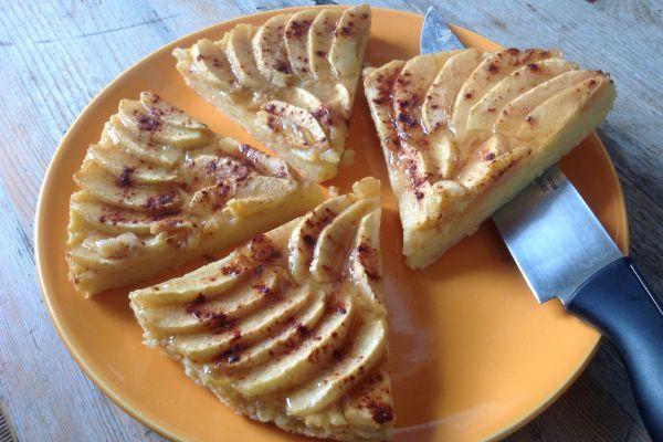 Recette Gâteau double pomme minceur - 2 pp (3 SP)