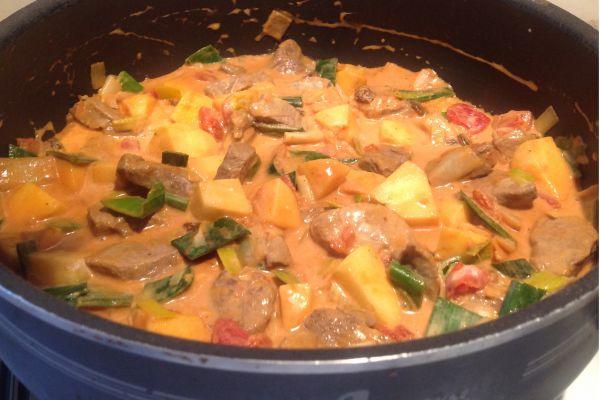Curry d'agneau WW - 5 pp