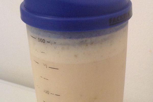 Shaker vinaigrette au lait ww