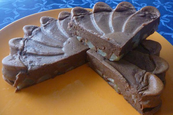 Recette Flan au carré frais poire cacao - 3 pp (3 SP)