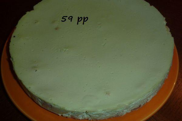 Cheesecake allégé - 3 pp ou 4 SP