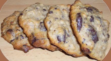 Recette Cookies banane-choco