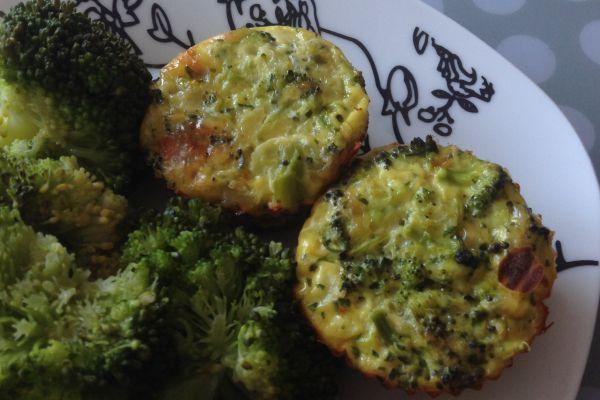 Flans de brocolis - 3 pp