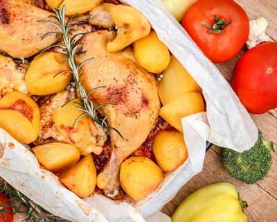 Cuisse de poulet pdt au COOKEO