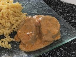 Filet mignon de porc au boursin COOKEO