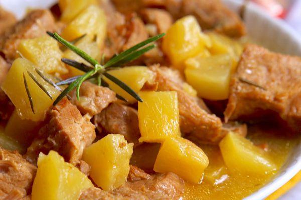 Recette Sauté de porc et ananas COOKEO