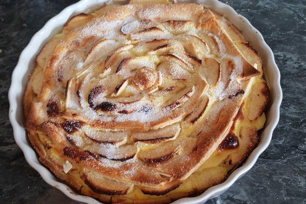 Recette Tarte aux pommes feuilletée