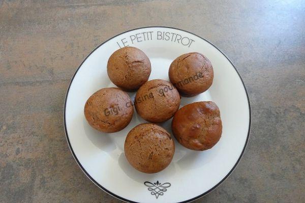 Muffins chocolat et ricotta