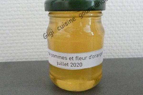Gelée de pommes et fleur d'oranger au compact cook pro