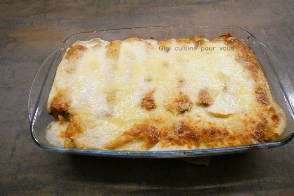 Crêpes bolognaises façon lasagnes