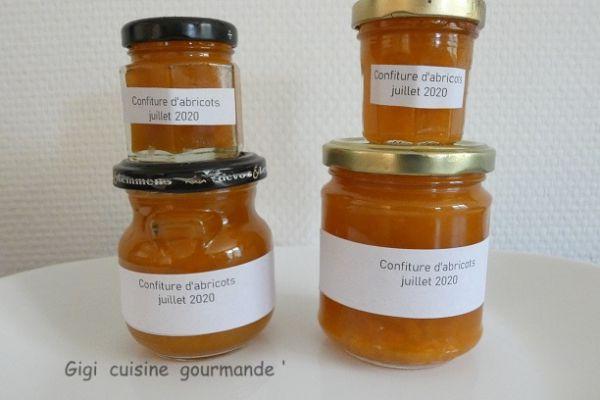 Confiture d'abricots au compact cook pro