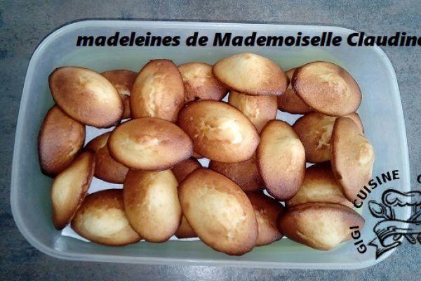 Recette Madeleines de Mademoiselle Claudine (pour diabétiques)