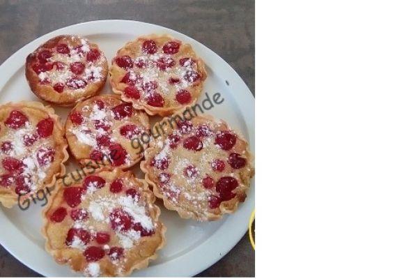 Recette Tartelettes aux cerises bigarreaux