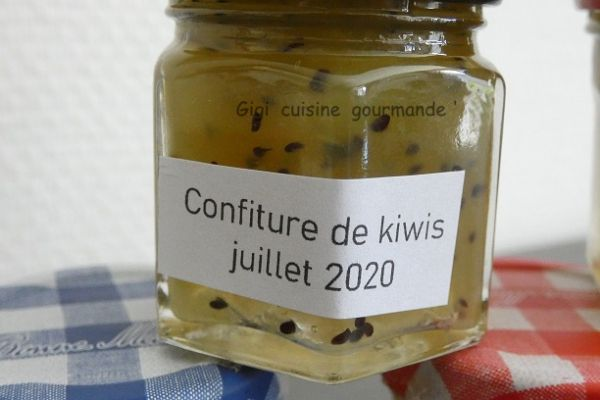 Recette confiture de kiwis au compact cook pro