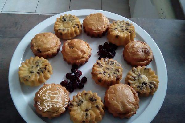Recette Muffins aux cranberries séchées