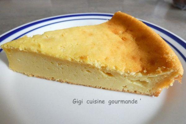 Gâteau mousseux au fromage blanc