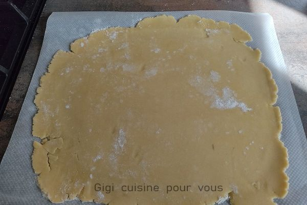 Recette Pâte sablée au compact cook pro