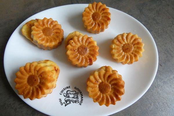 Recette Muffins au chorizo et gruyère