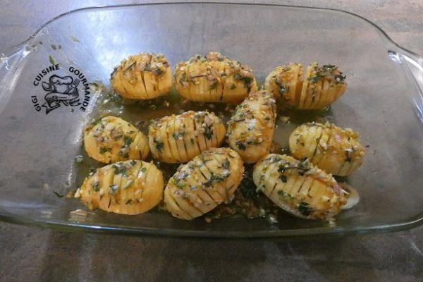 Recette Pommes de terre aux épices