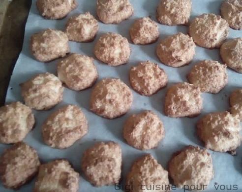 mes rochers à la noix de coco