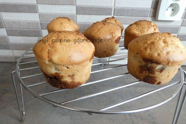 Recette MUFFINS pomme et carambar au cake factory et ccp