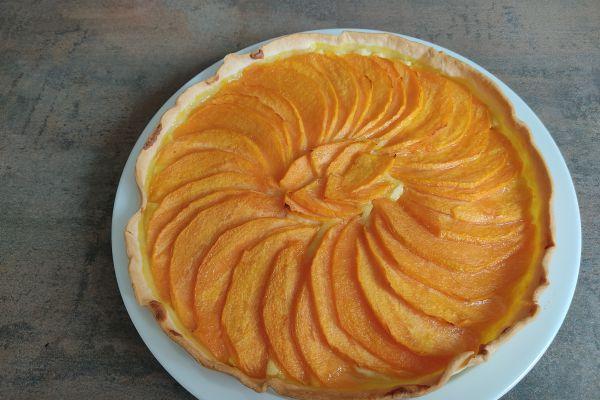 Recette Tarte au melon sur crème d'amandes