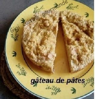Recette Gâteau de pâtes