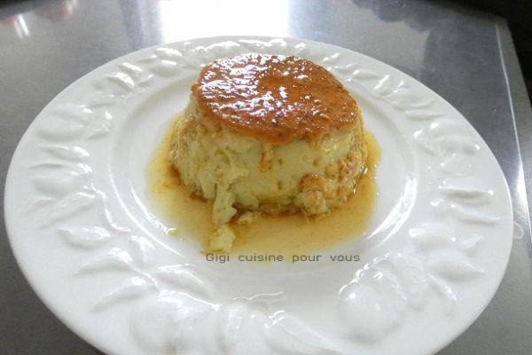 Recette Crème renversée pistache et caramel (compact cook pro)