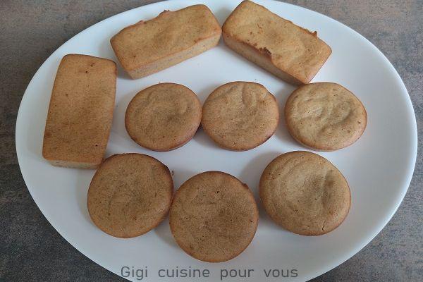 Mini banane bread aux spéculoos avec le cake factory