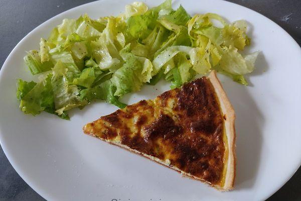 Recette Tarte au fromage ail et fines herbes