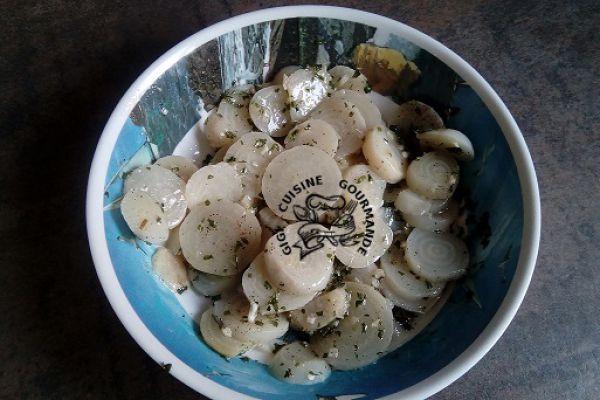 betterave blanche (cookéo ou pas)