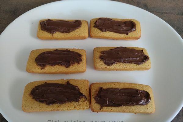 Recette Barquette au chocolat avec le cake factory