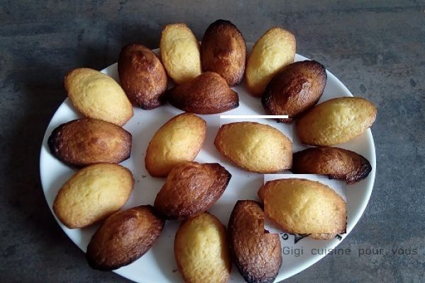 Madeleines au compact cook pro