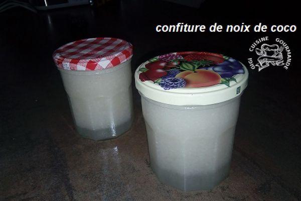 Recette CONFITURE DE NOIX DE COCO au thermomix