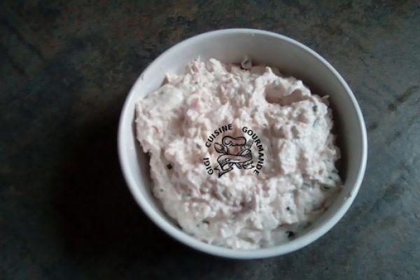 Mousse de jambon et Philadelphia (thermomix)