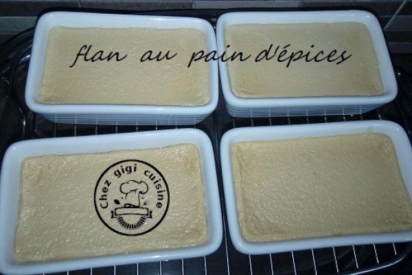 FLAN AU PAIN D'EPICES