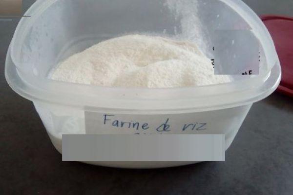 """Recette farine de riz fait """"maison"""" au compact cook pro"""
