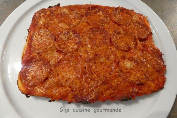 Recette Pizza (non liquide) au cake factory