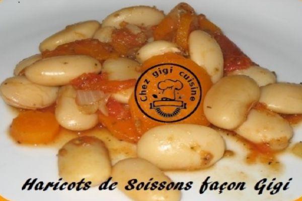 HARICOTS DE SOISSONS façon Gigi à l'omnicuiseur