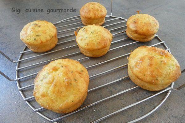 Muffins au tartare au cake factory