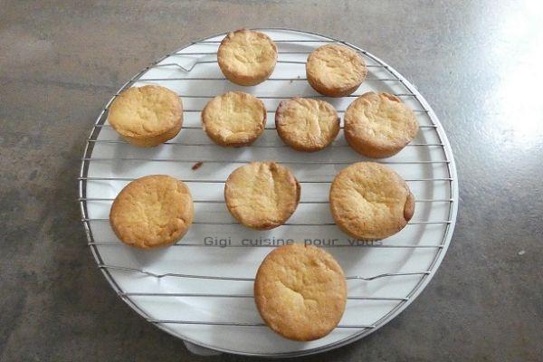 Palets bretons réalisés au compact cook pro et cake factory