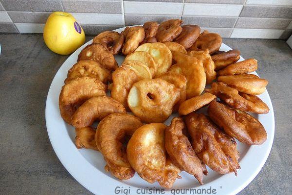 Beignets aux pommes au compact cook pro