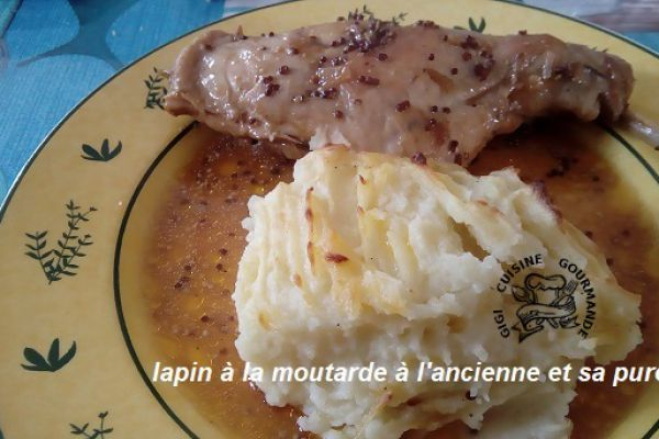 lapin à la moutarde ancienne (cookéo)
