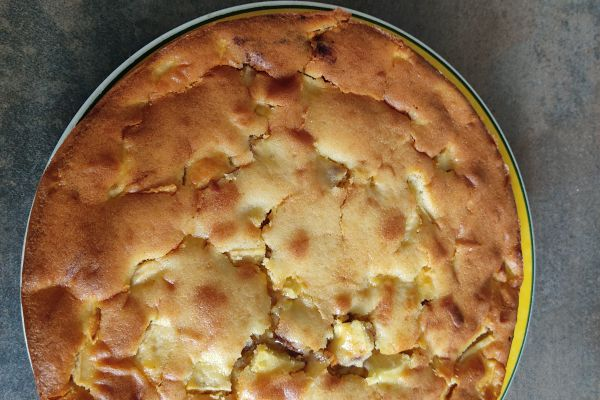 Recette Gâteau cacaoté pommes et mascarpone avec le compact cook pro